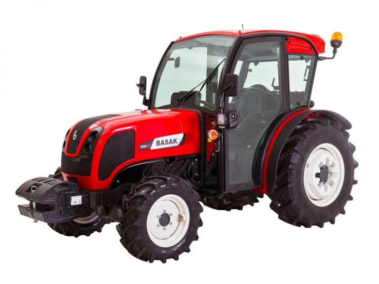 traktor basak 2080 s kabinou novy model