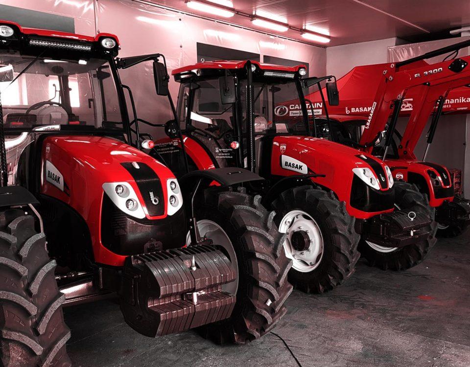 traktory basak v showroome - agromechanika s.r.o.