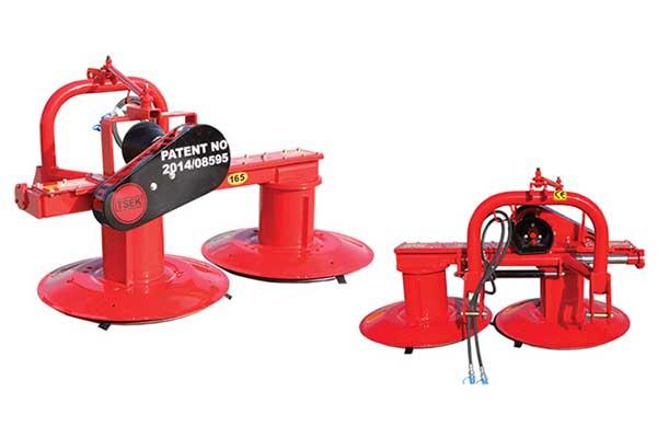 bubnova kosacka za traktor MKA 165 hydraulická posuvná - Agromechanika